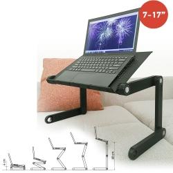 Sülearvuti laud Wonder Worker Newton, must