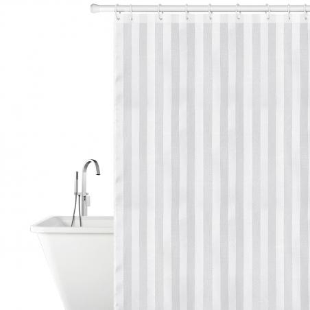 Tatkraft Harmony Тканевая штора для ванной комнаты со специальной водоотталкивающей пропиткой