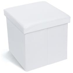 Tatkraft Blanc Пуфик с отсеком для хранения...