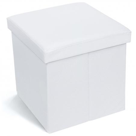 Tatkraft Blanc Пуфик с отсеком для хранения вещей, объём 55 л