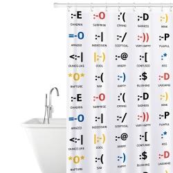 Tatkraft Emotions Тканевая штора для ванной...