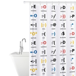 Tatkraft Fabric Shower Curtain...