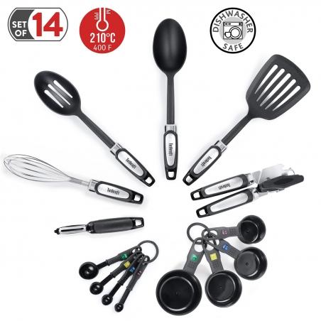 Tatkraft Grip Набор кухонной утвари из 14 предметов