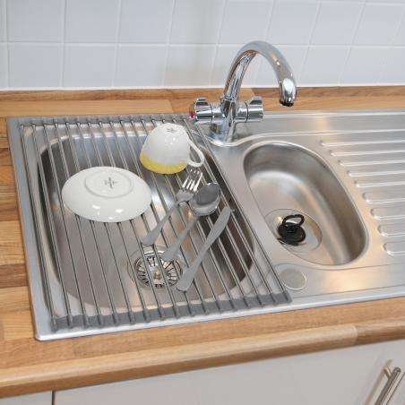 Tatkraft Spin Складная сушилка на раковину для сушки посуды и продуктов