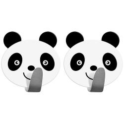 Tatkraft Panda Набор из 2 самоклеящихся крючков...