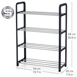 Artmoon BANFF Shoe rack 4-Tire, for 8...