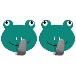 Tatkraft Frogs Набор из 2 самоклеящихся крючков...