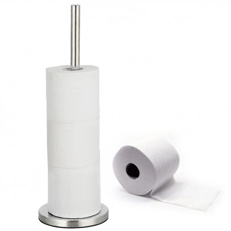 Tatkraft CAROL iseseisev tualett-rullihoidja 4 rulli
