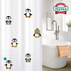 Tatkraft FUNNY PENGUINS dušikardin, tekstiil
