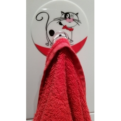 Tatkraft Funny Cats адгезивный крючок сильной...