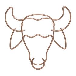 Safari Настенная вешалка в форме буйвола