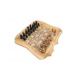Ручная работа!Шахматы из оливкового дерева...