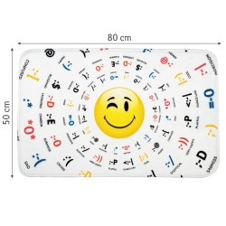 Tatkraft 3D Emotions Bath Mat 50X80...