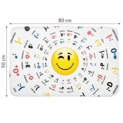 Tatkraft 3D Emotions Bath Mat 50X80...