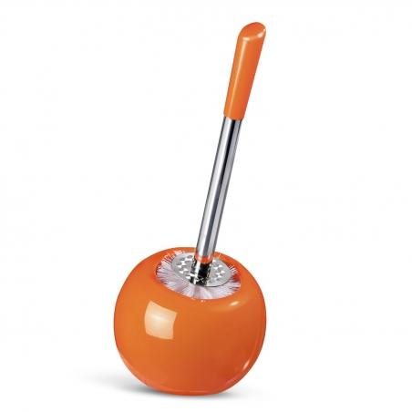 Tatkraft Terra Гарнитур для туалета из керамики и нержавеющей стали, оранжевый