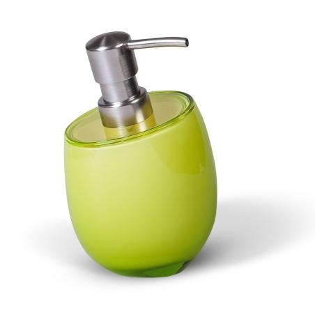 Tatkraft Repose Green Дозатор для жидкого мыла из прочного небьющегося акрила