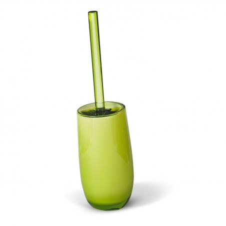 Tatkraft Immanuel Repose Green Toilet Brush Holder Multilayer Acrylic