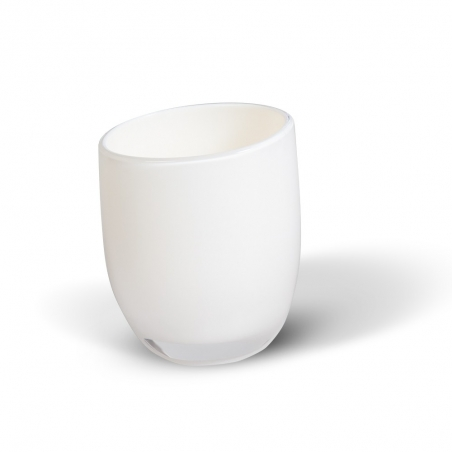 Tatkraft Repose White Стакан для ванной комнаты из прочного небьющегося акрила