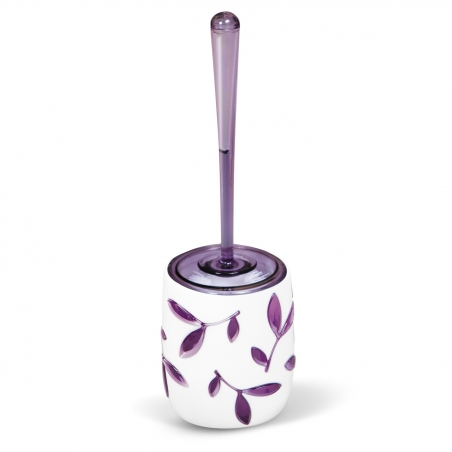 Tatkraft Immanuel Olive Violet Toilet Brush Holder Multilayer Acrylicic
